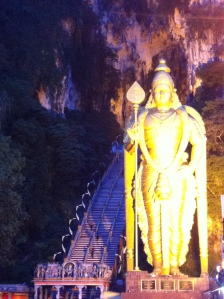 The worlds tallest statue of Murugan. And yes, that it knowledge I gained from Wikipedia